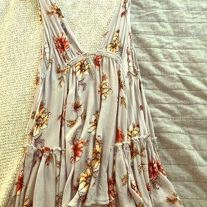 Light Purple Floral Sun Dress